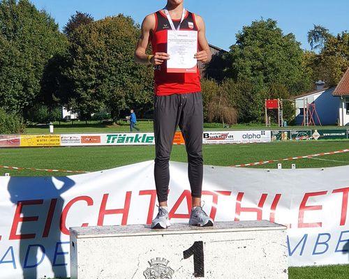 Leichtathletik | Lukas Gärtner württembergischer Vierkampfmeister