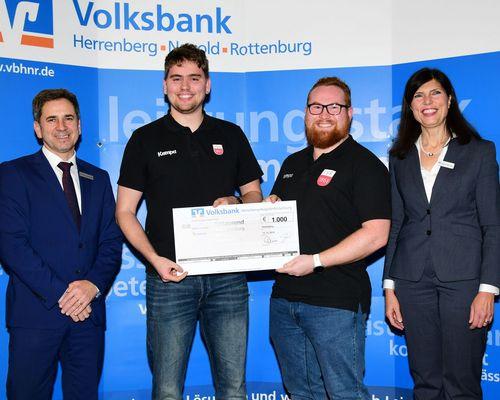Leichtathletik | SpendenAdvent 2019 der Volksbank Herrenberg-Nagold-Rottenburg Stiftung