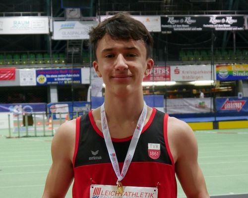 Leichtathletik | Württembergischer Hallenmeister über 300 Meter kommt von Rottenburg