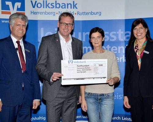 SpendenAdvent 2017 der Volksbank Herrenberg-Nagold-Rottenburg-Stiftung