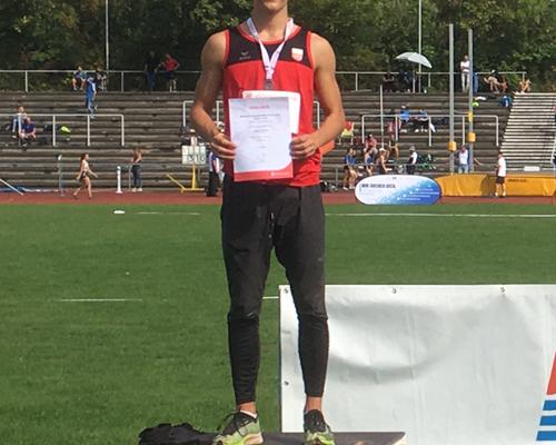 Leichtathletik | Lukas Gärtner glänzt bei den Württembergischen