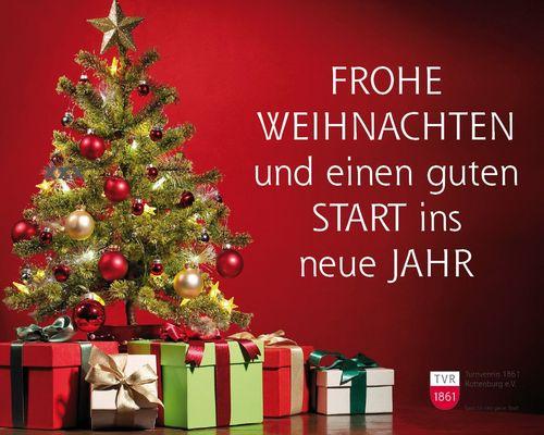Frohe Weihnachten - bleibt gesund!