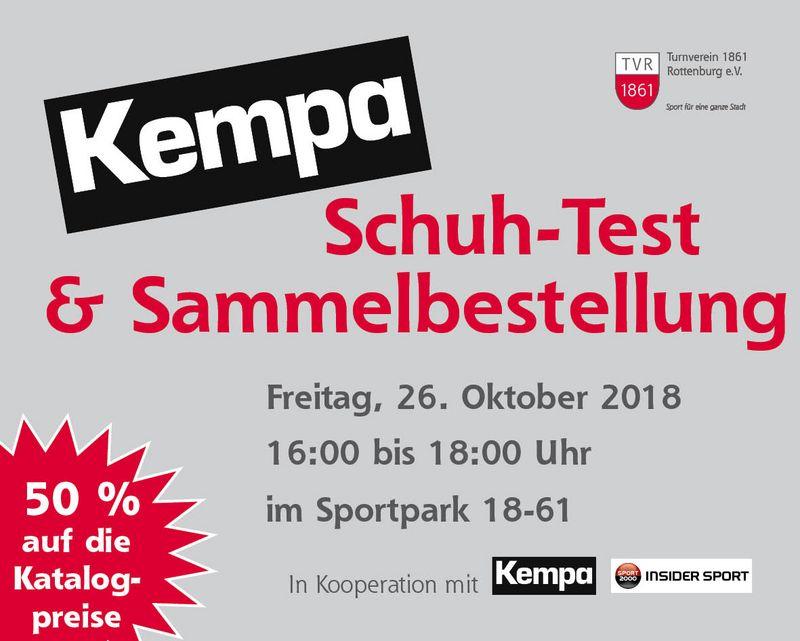 KEMPA Schuh-Test | TV Rottenburg - Sport für eine ganze Stadt